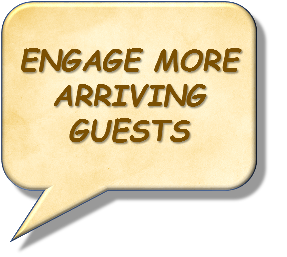 Engage More Arriving Guests