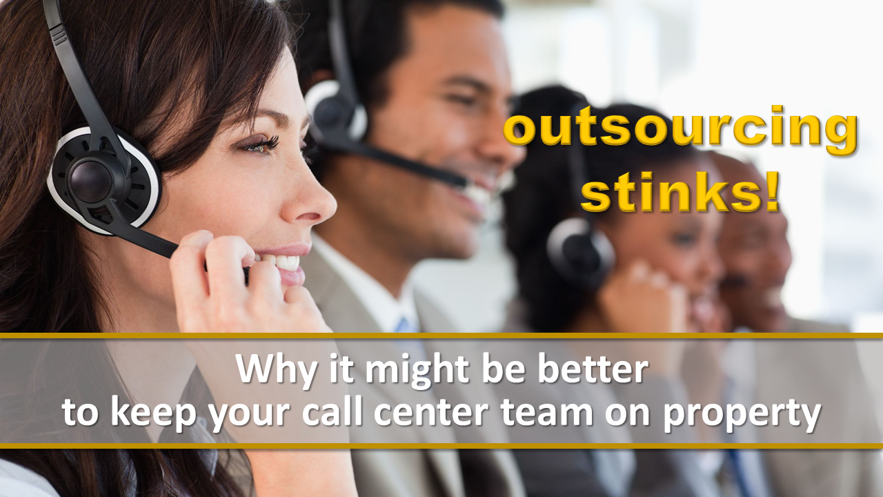 outsourcing stinks