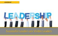 Succesful Leaders are Visible Leaders