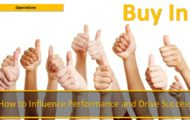 Buy In — How to Influence Performance and Drive Success